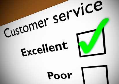 Customer Service Rating