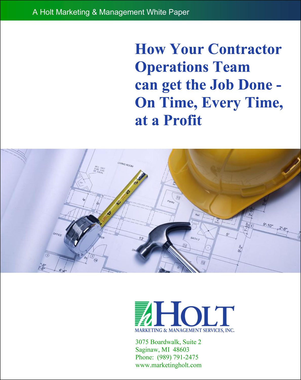 Contractor Operations Team Cover