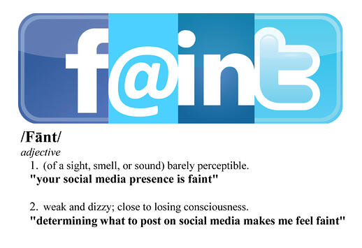 Social Media FAINT