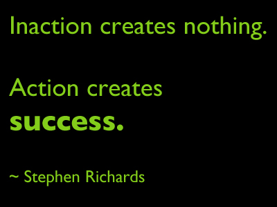 Inaction quote