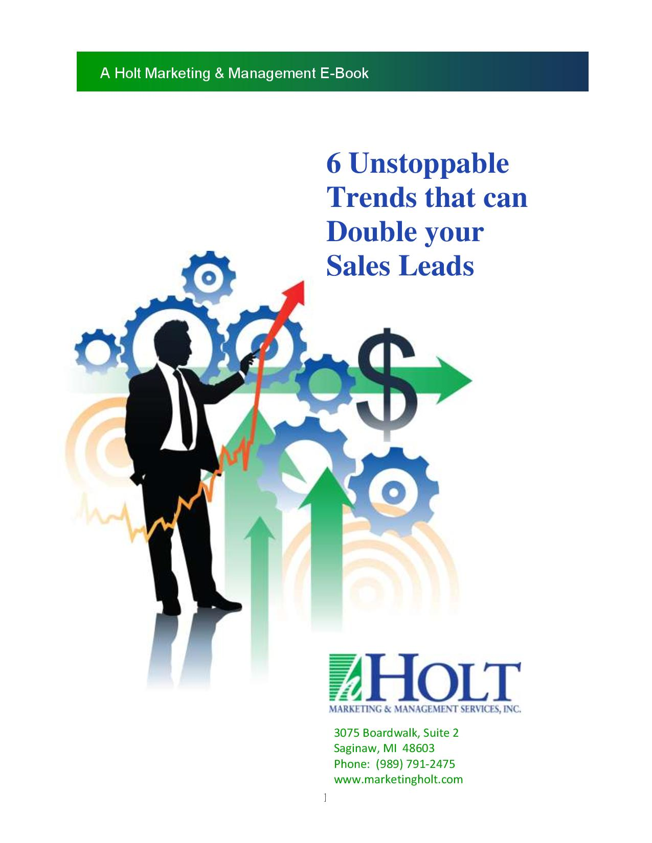 Double Sales Leads cover
